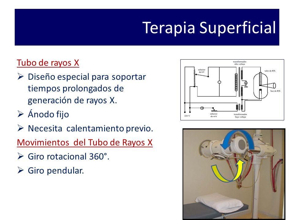 Terapia Superficial Tubo de rayos X
