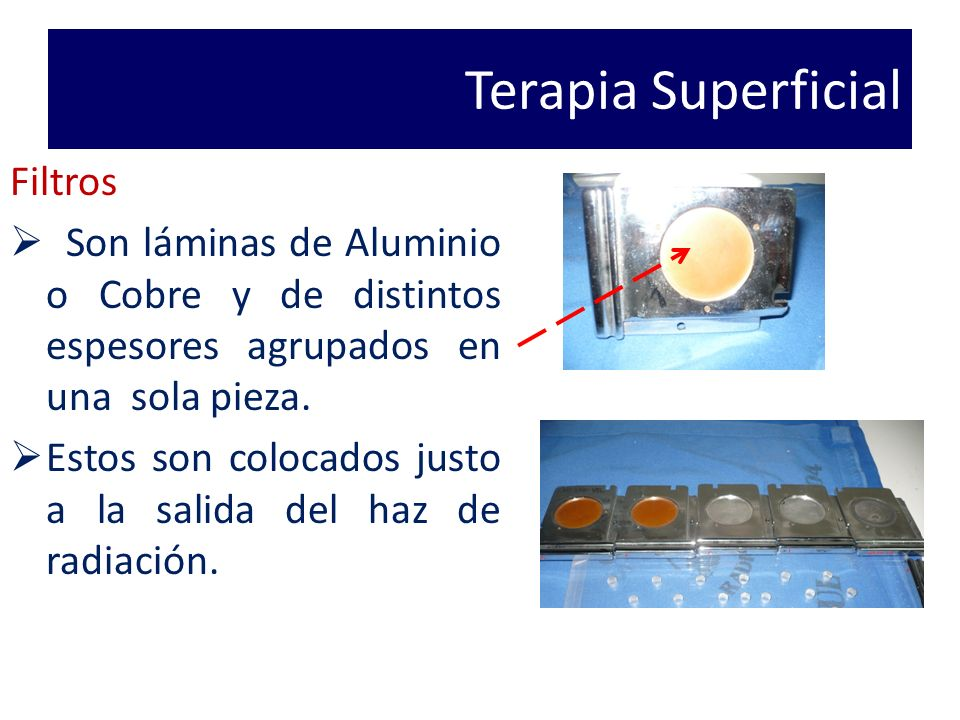 Terapia Superficial Filtros
