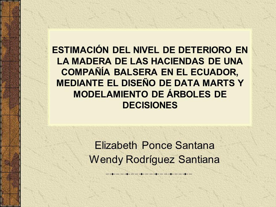 Elizabeth Ponce Santana Wendy Rodríguez Santiana