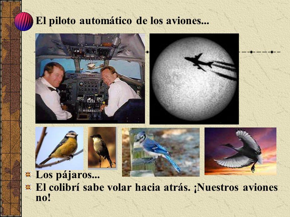 El piloto automático de los aviones...