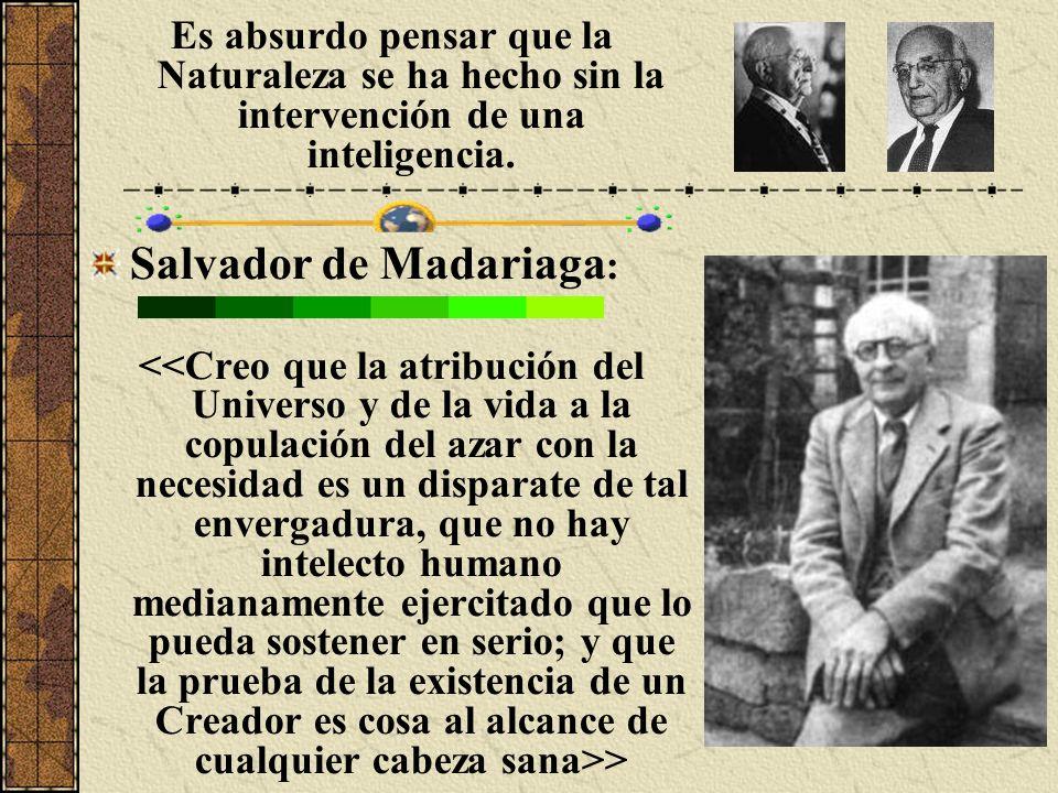 Salvador de Madariaga: