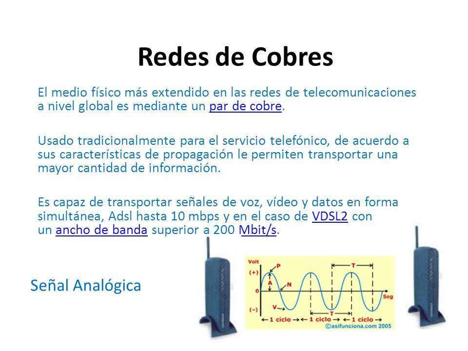 Redes de Cobres Señal Analógica