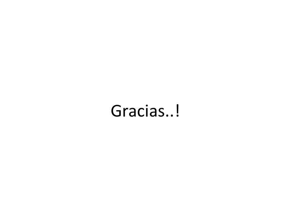 Gracias..!