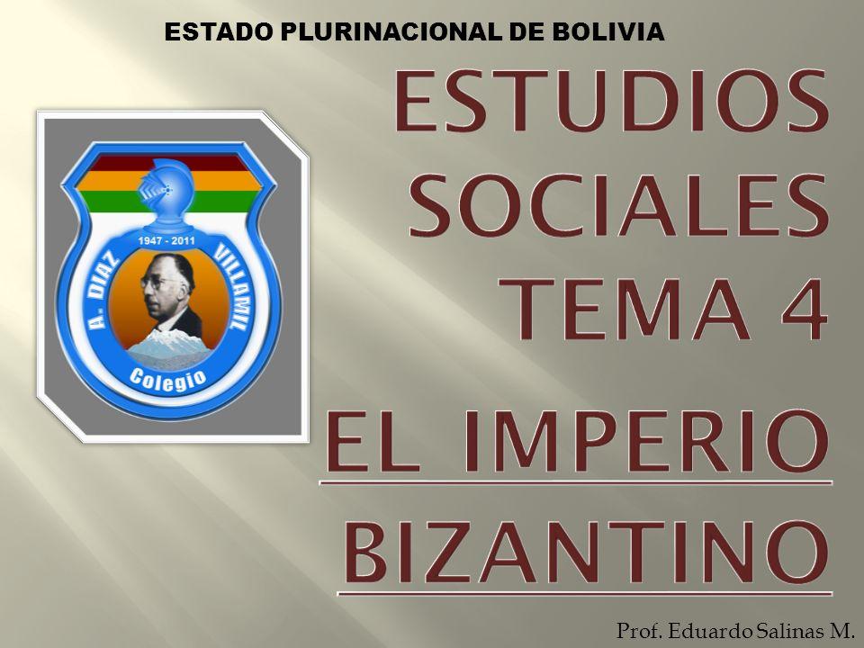 ESTUDIOS SOCIALES TEMA 4 EL IMPERIO BIZANTINO