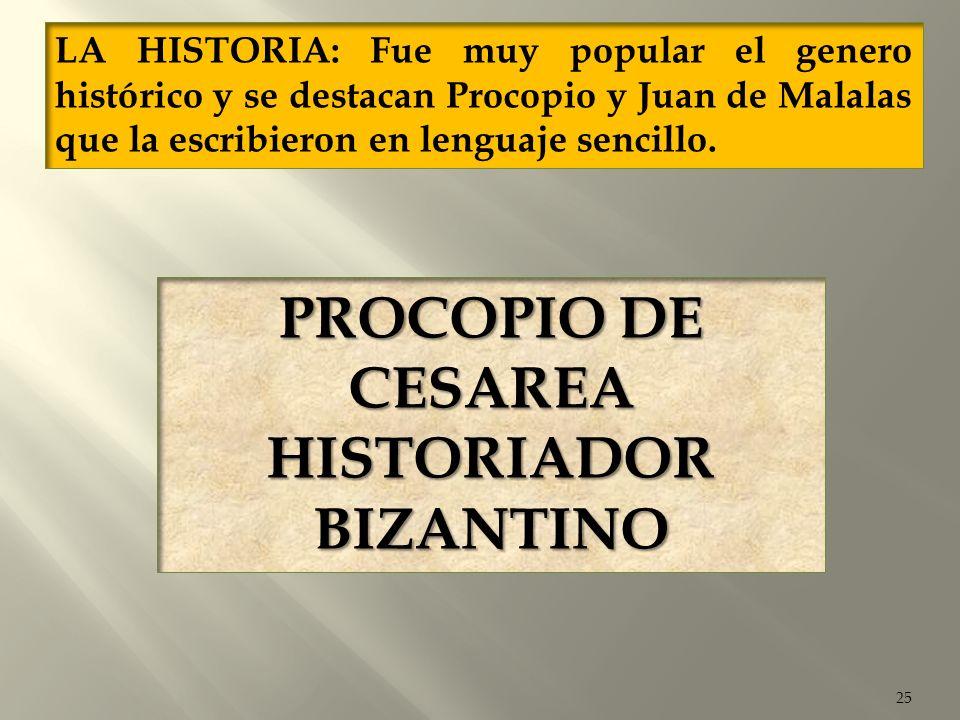 HISTORIADOR BIZANTINO