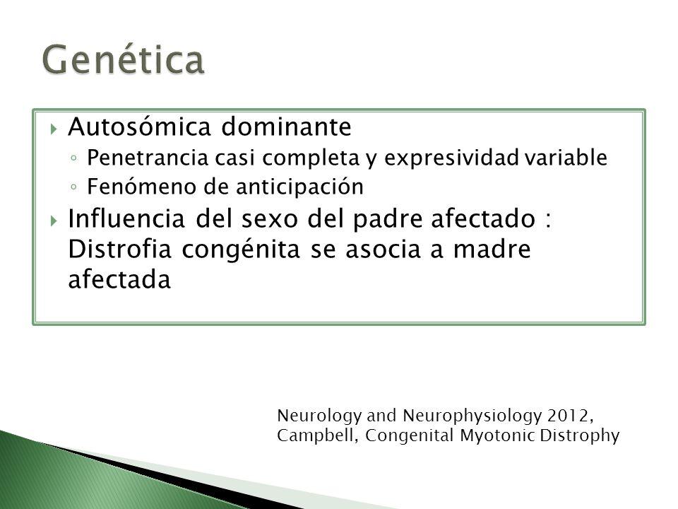 Genética Autosómica dominante