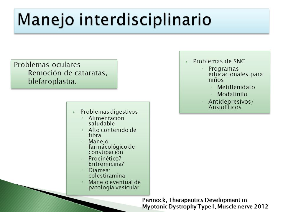 Manejo interdisciplinario