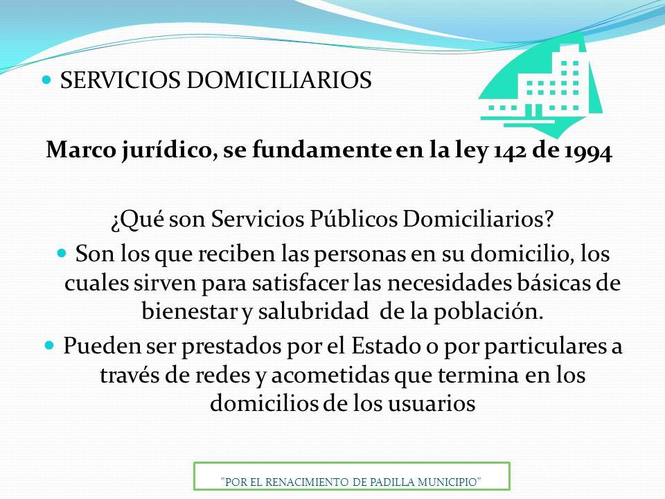 SERVICIOS DOMICILIARIOS
