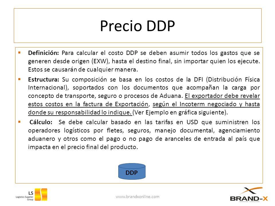 Precio DDP