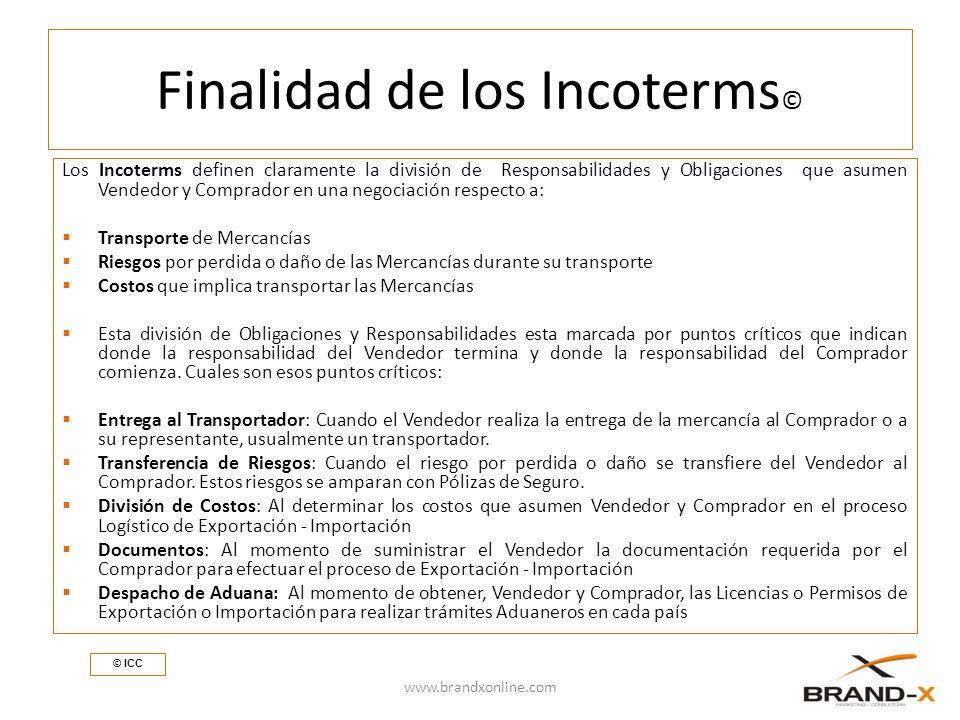Finalidad de los Incoterms©