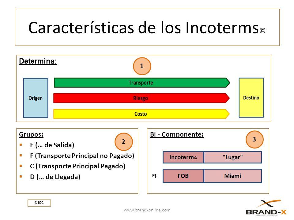 Características de los Incoterms©