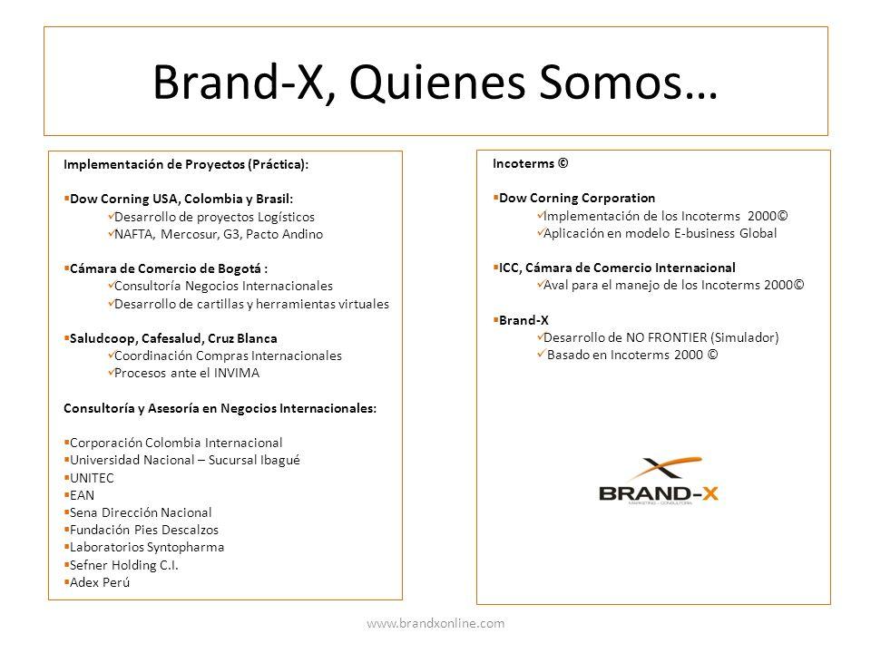 Brand-X, Quienes Somos…
