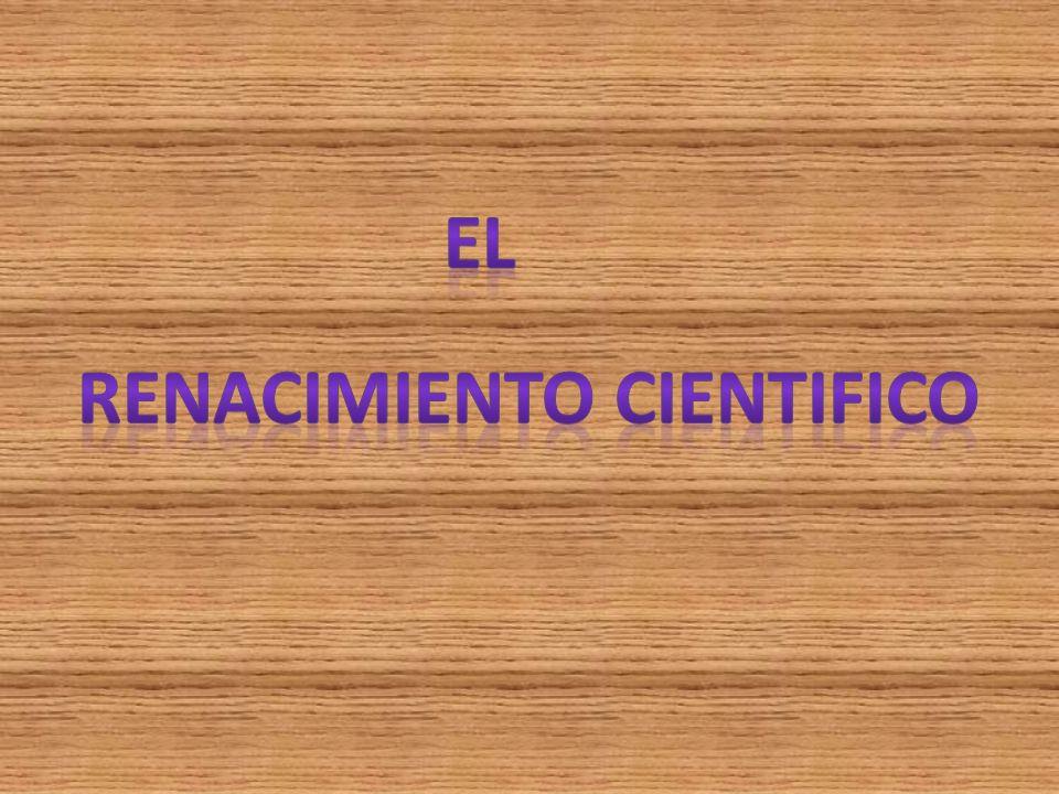 Renacimiento cientifico
