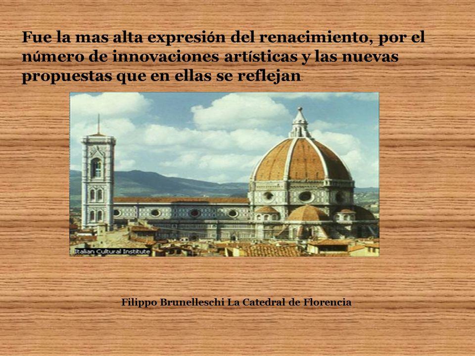 Filippo Brunelleschi La Catedral de Florencia