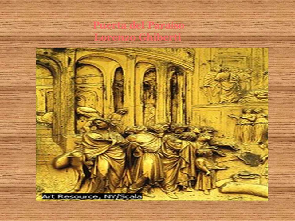 Puerta del Paraíso Lorenzo Ghiberti