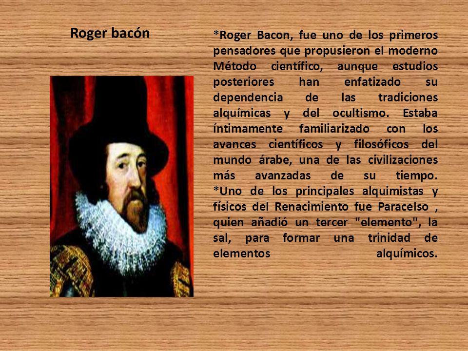 Roger bacón