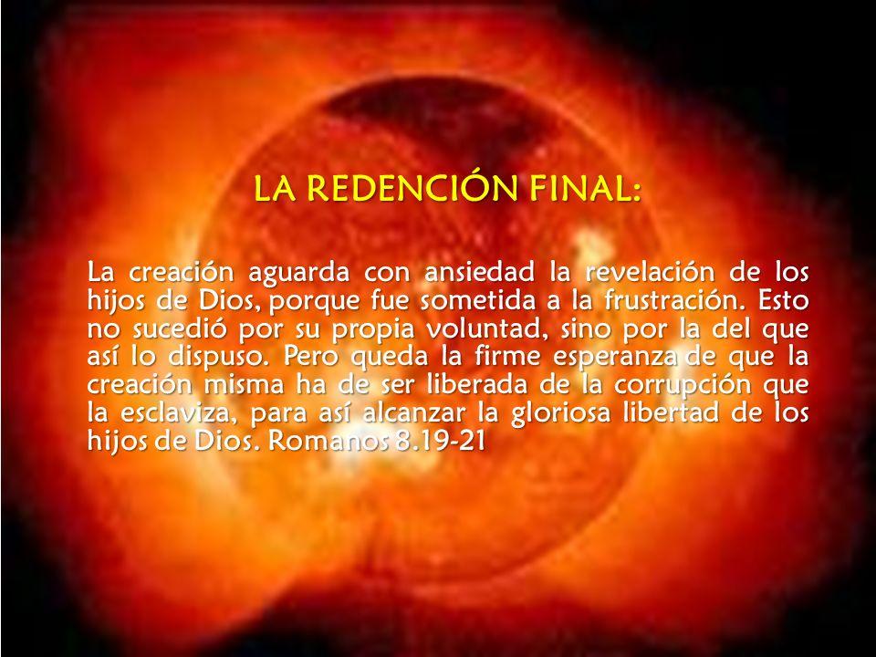 LA REDENCIÓN FINAL: