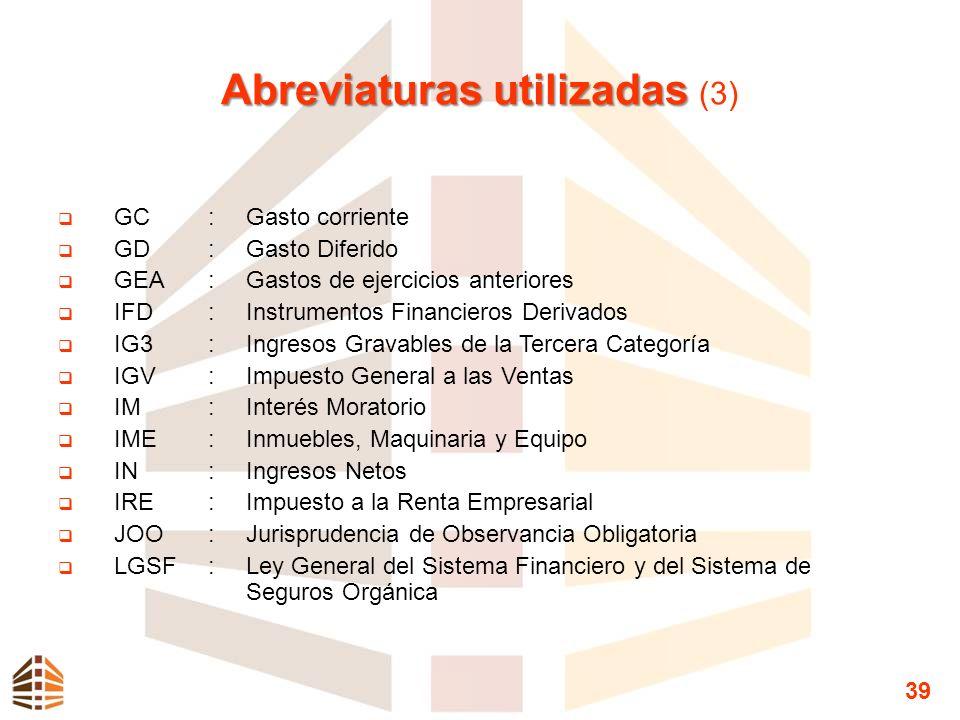 Abreviaturas utilizadas (3)
