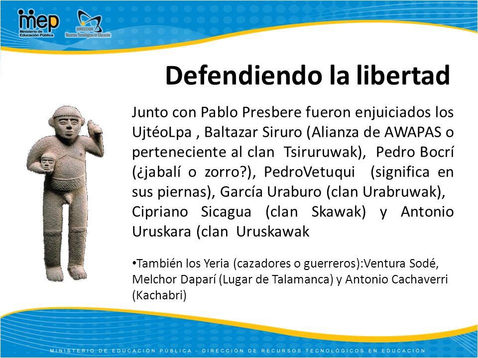 Defendiendo la libertad