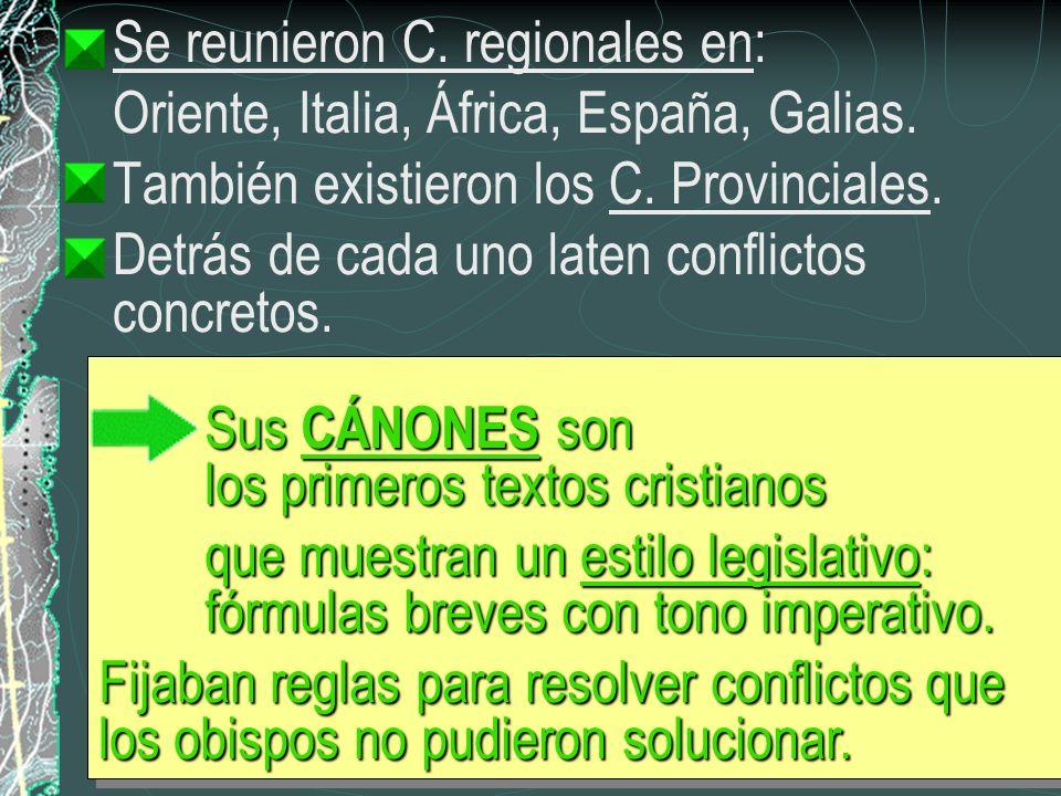 Se reunieron C. regionales en: