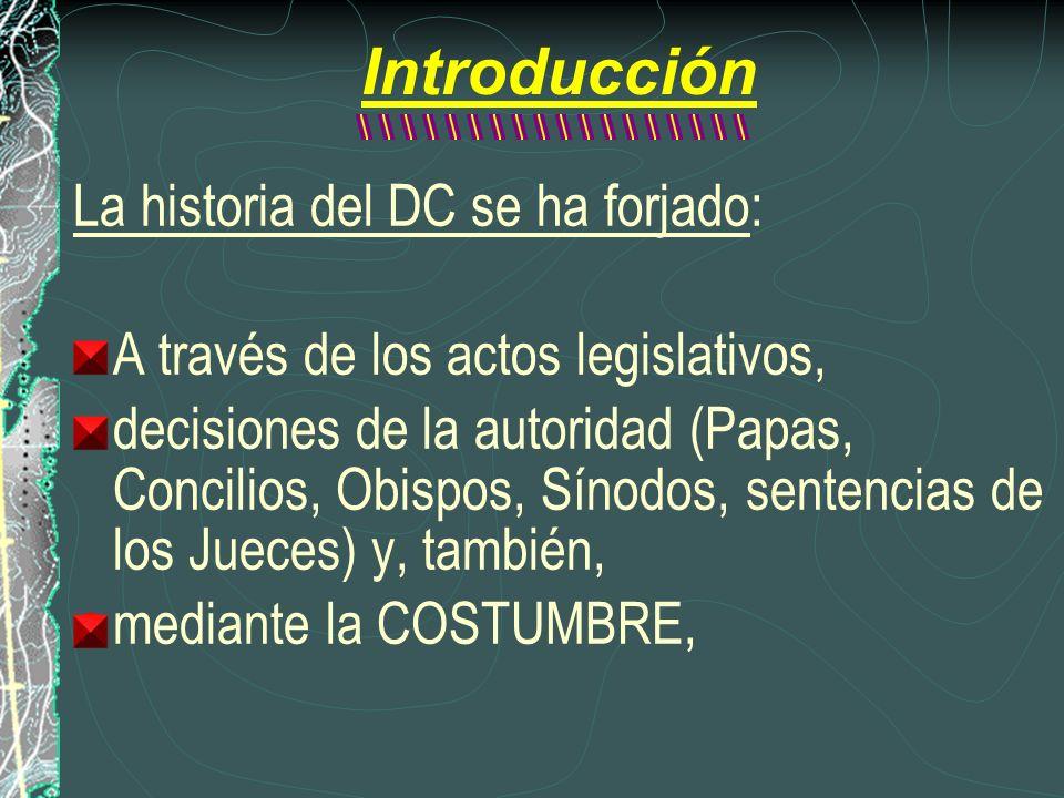 Introducción La historia del DC se ha forjado: