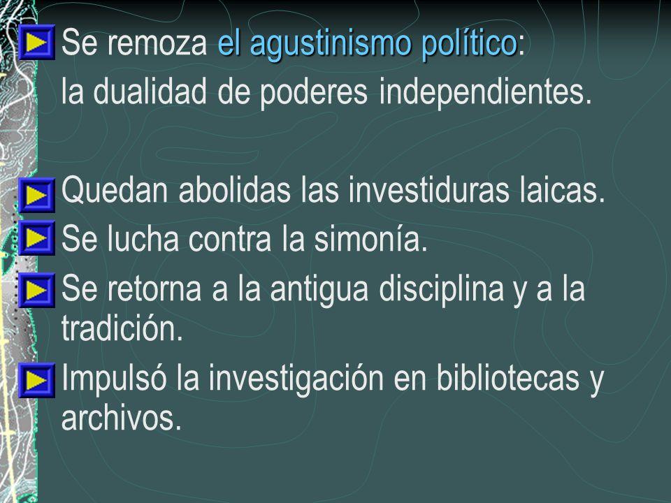 Se remoza el agustinismo político: