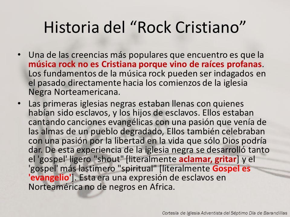 Historia del Rock Cristiano