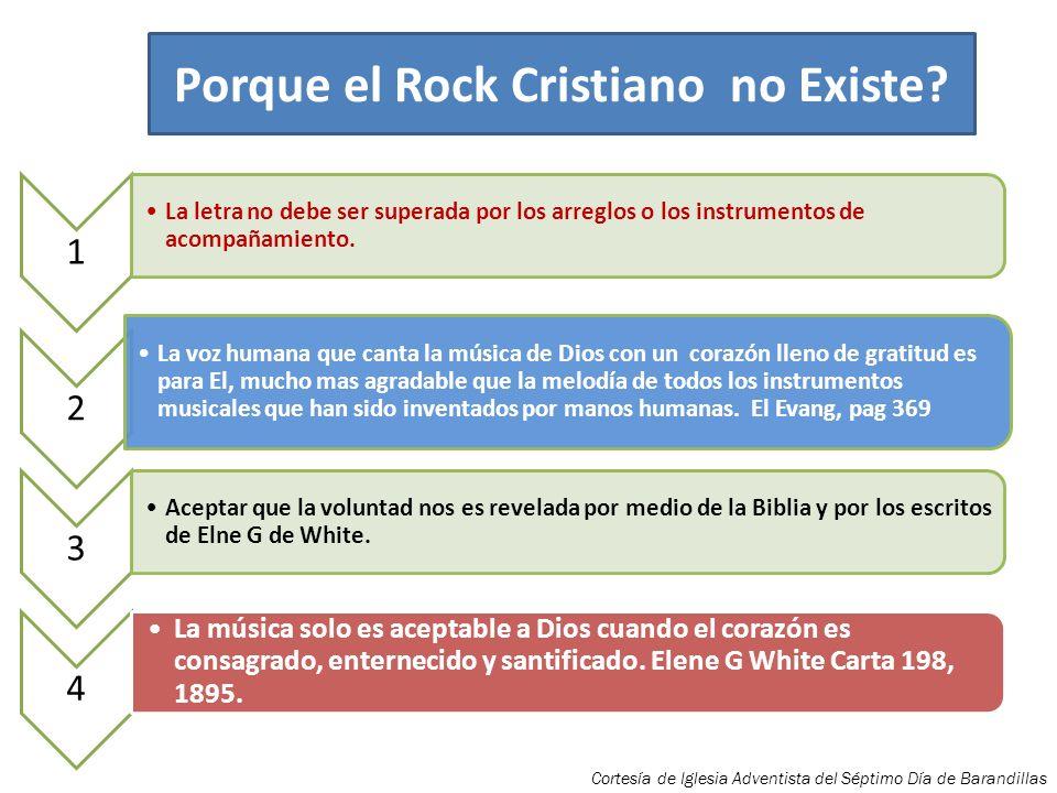 Porque el Rock Cristiano no Existe