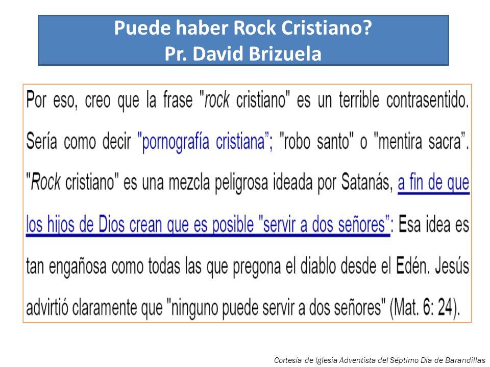 Puede haber Rock Cristiano