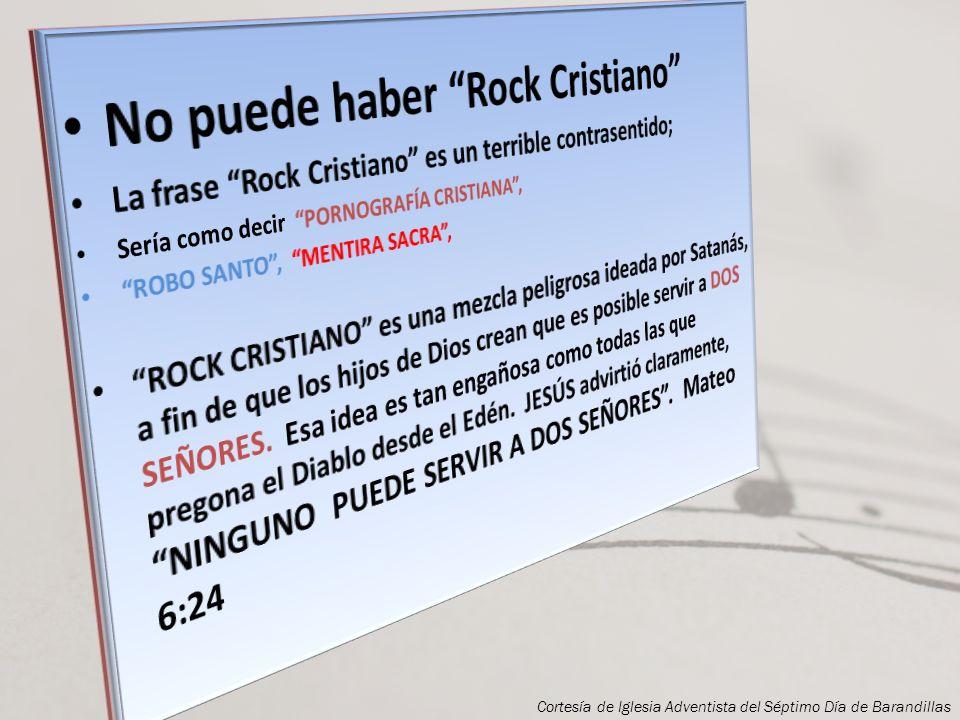 No puede haber Rock Cristiano
