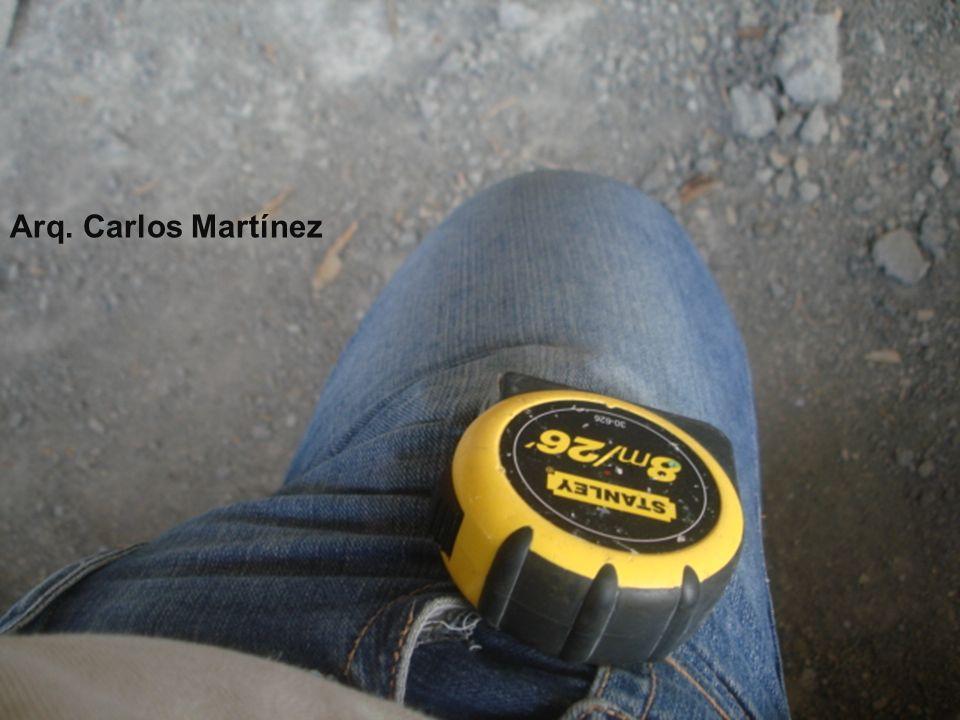Arq. Carlos Martínez