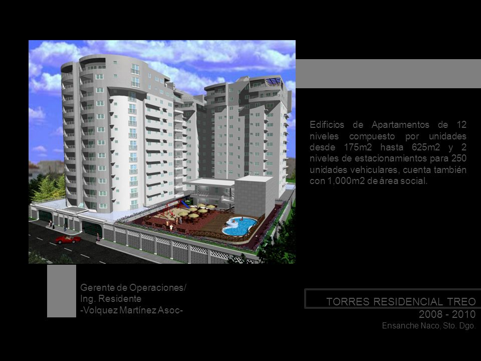 TORRES RESIDENCIAL TREO 2008 - 2010