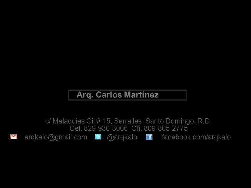 c/ Malaquias Gil # 15, Serralles, Santo Domingo, R.D.