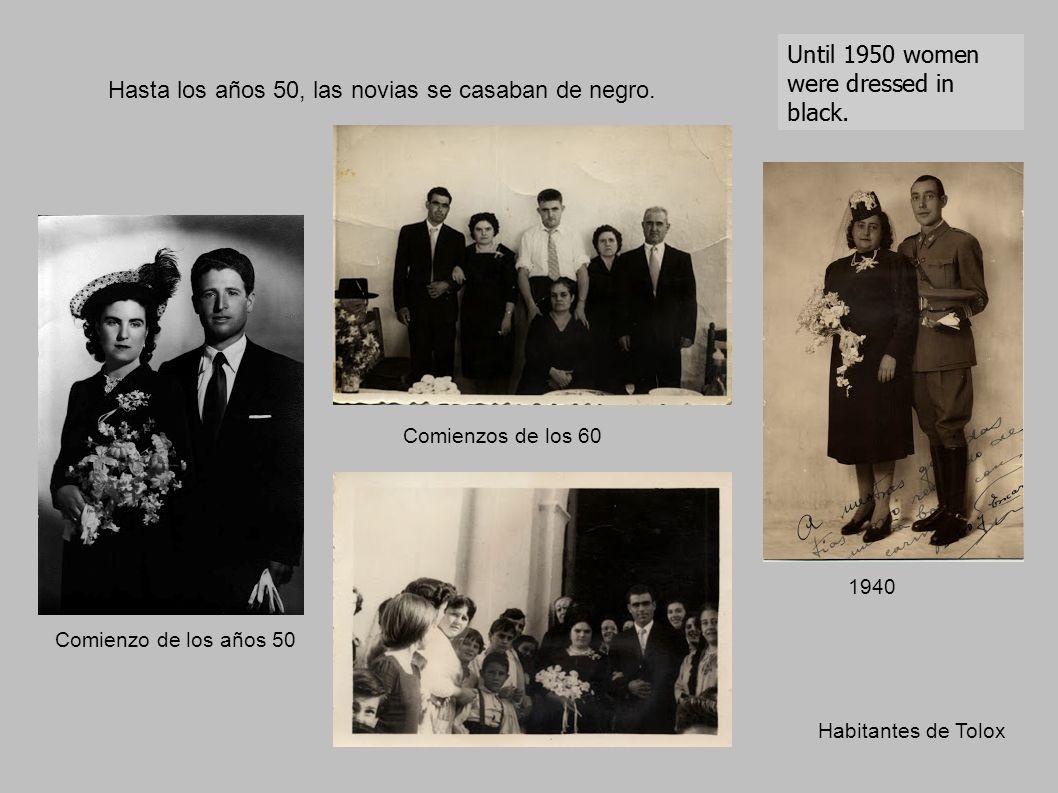 Hasta los años 50, las novias se casaban de negro.