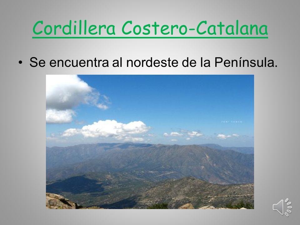 Cordillera Costero-Catalana