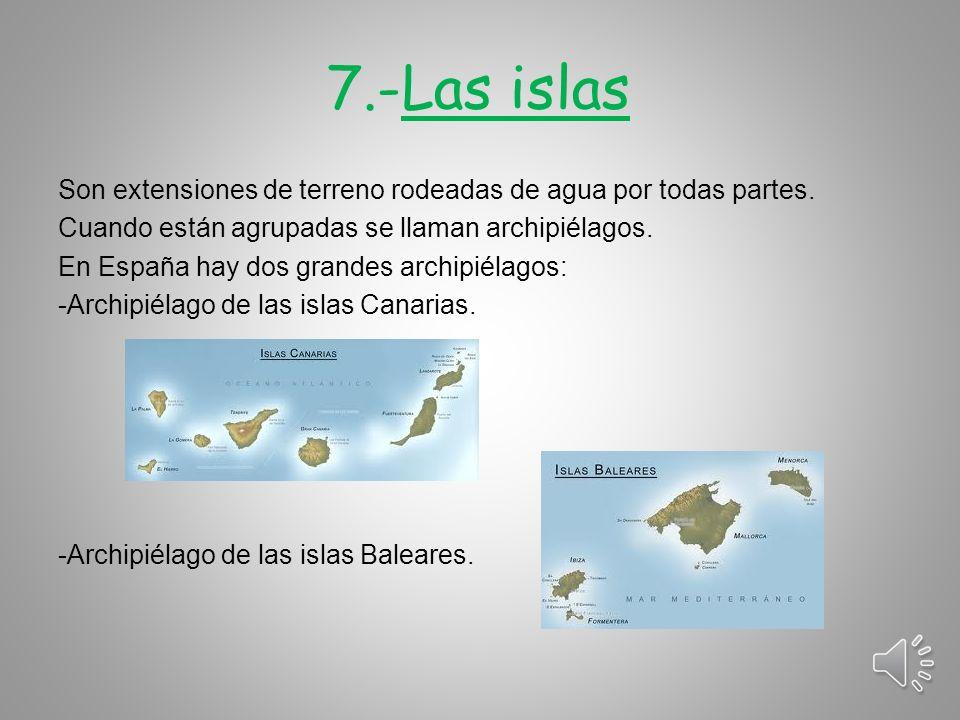 7.-Las islas