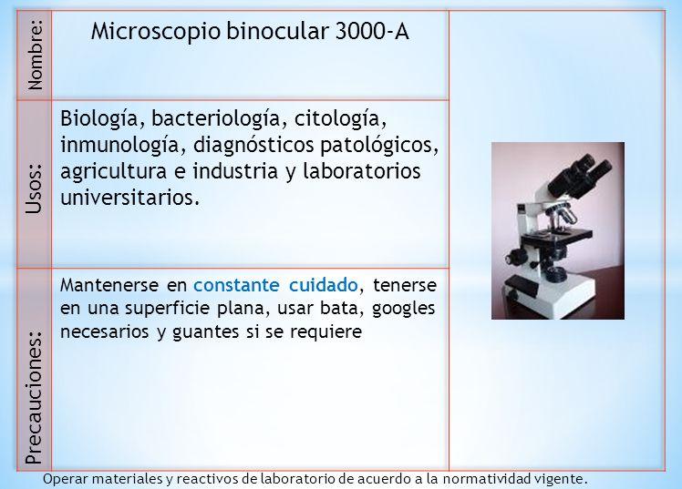 Microscopio binocular 3000-A