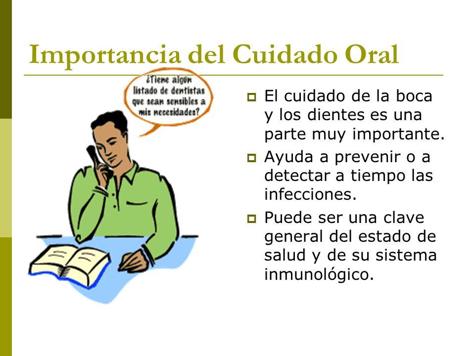 Importancia del Cuidado Oral