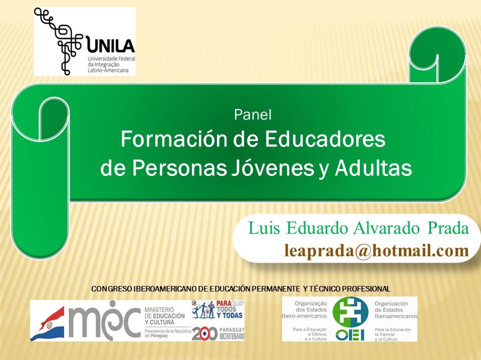 Formación de Educadores de Personas Jóvenes y Adultas