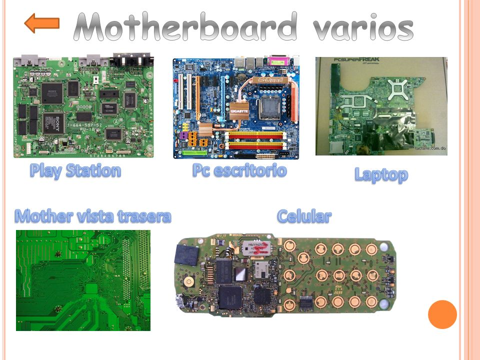 Motherboard varios Play Station Pc escritorio Laptop