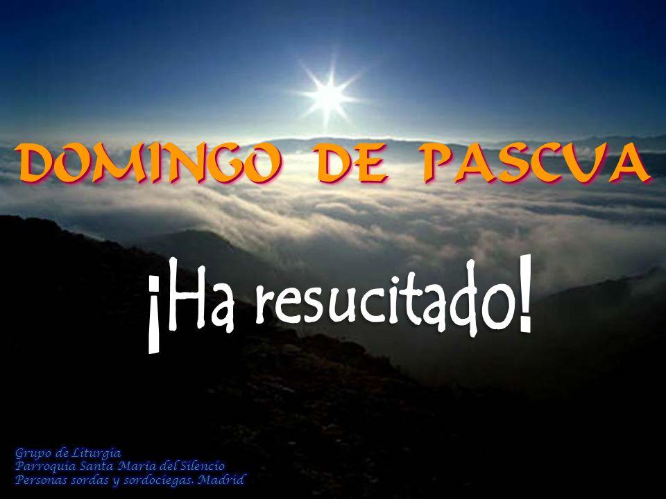 DOMINGO DE PASCUA ¡Ha resucitado! Grupo de Liturgia
