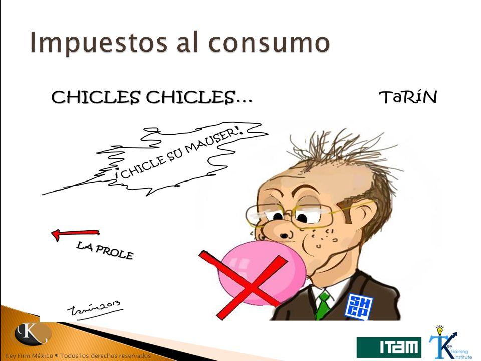 Impuestos al consumo