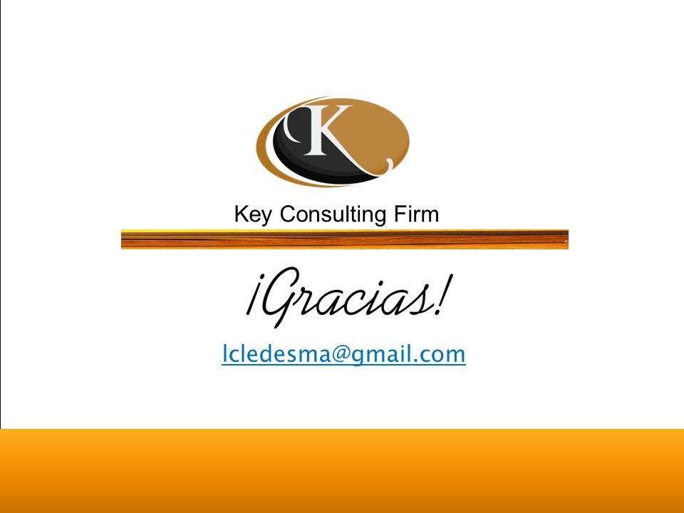 Key Consulting Firm lcledesma@gmail.com