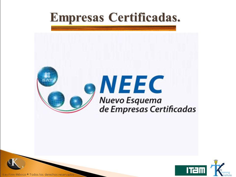 Empresas Certificadas.