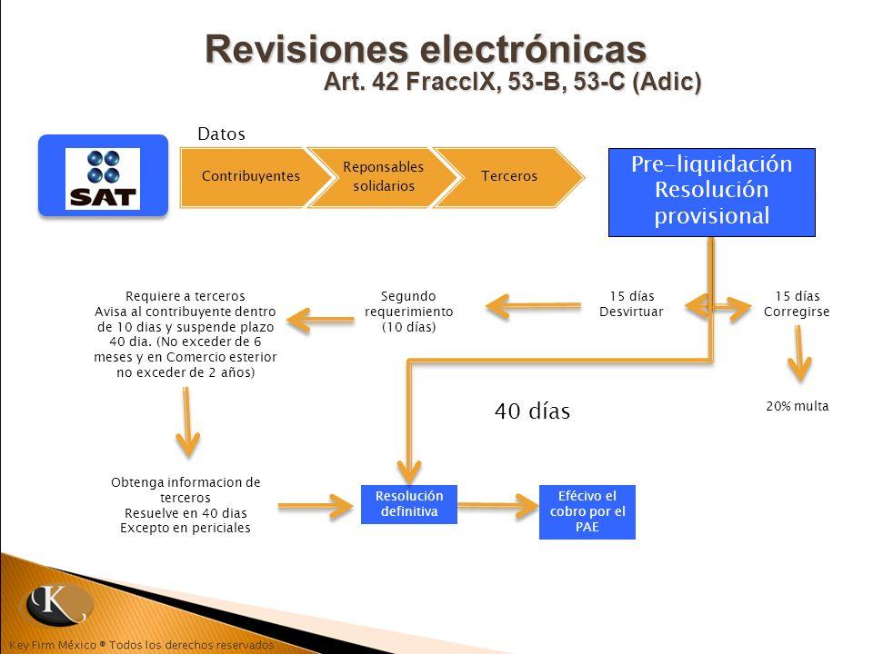Revisiones electrónicas Art. 42 FraccIX, 53-B, 53-C (Adic)