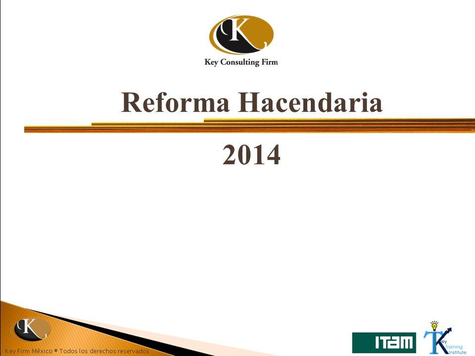 Reforma Hacendaria 2014
