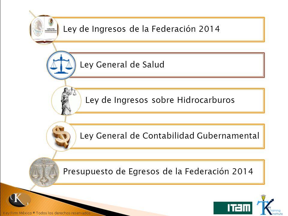 Ley de Ingresos de la Federación 2014