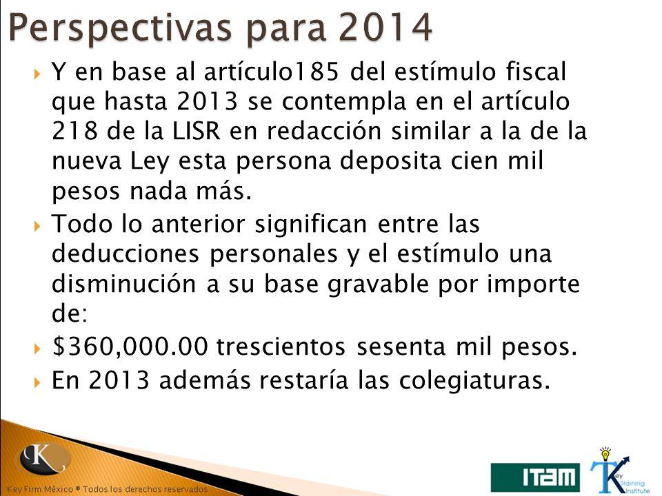 Perspectivas para 2014