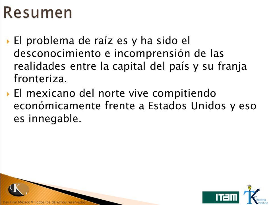 Resumen El problema de raíz es y ha sido el desconocimiento e incomprensión de las realidades entre la capital del país y su franja fronteriza.