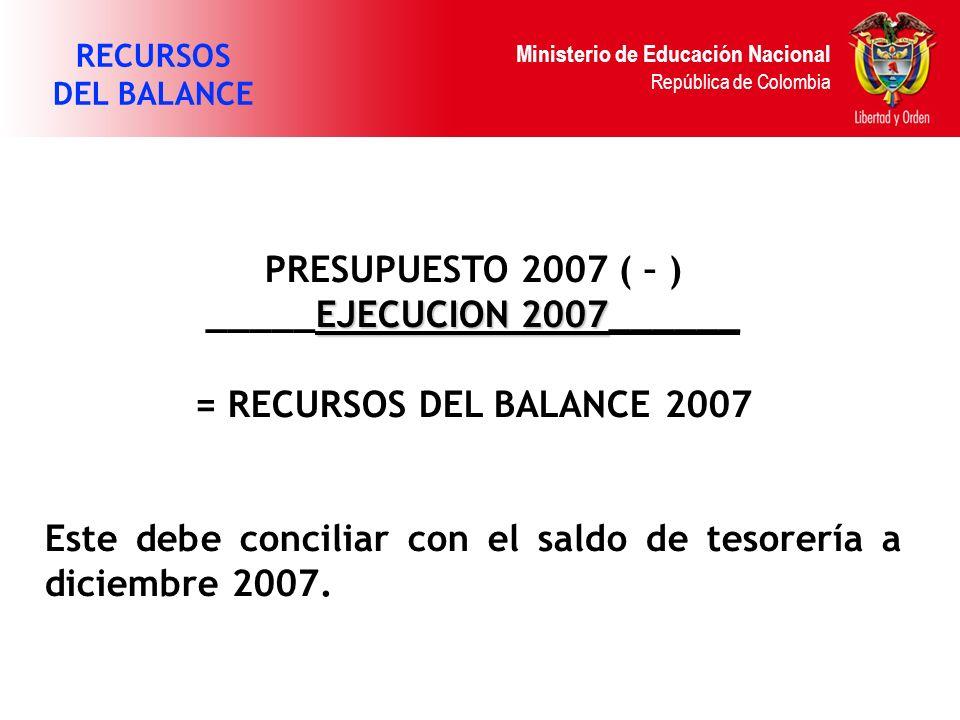 _____EJECUCION 2007______